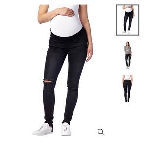 Serephine Ripped Maternity Jeans
